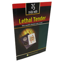 25 Tricks with Lethal Tender - Instructional Magic Booklet, Magic Trick