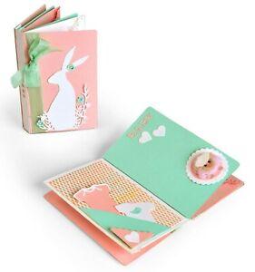 Sizzix Mini Album Bigz L die #663629 Retail $29.99 designer Lynda Kanase