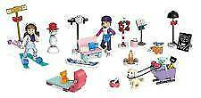 Mega Construx American Girl Calender Set with Winter Figures & Free Gift