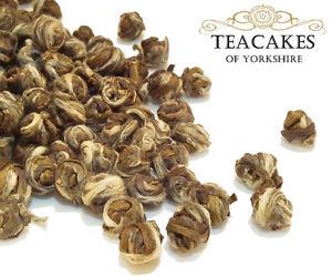 Jasmine Pearls Tea Green 250g Speciality Loose Leaf Dragon Tears Rolled