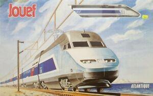 RARE JOUEF CHAMPAGNOLE HO 1/87 Coffret modéliste TGV Atlantique SNCF Réf.7400