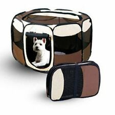 8 Panel Portable Puppy Dog Pet Cat Playpen Crate Cage Kennel Tent Play Pen Size