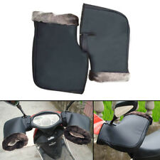 Pair Waterproof Motorcycle Grip Handlebar Muffs Winter Warmer Thermal Glove Warm