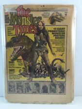 The Monster Times Newspaper Magazine November 1975 No.44 Raquel Welch