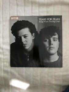Tears for Fears, Songs from the big chair- Langspielplatte