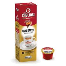 100 CAPSULE CAFFITALY SYSTEM CAFFE' CAGLIARI GRAND ESPRESSO NETWORK BREAK SHOP