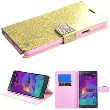 Fundas con tapa color principal oro para teléfonos móviles y PDAs Samsung