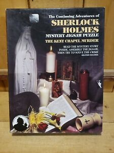 The Continuing Adventures Of Sherlock Holmes, Mystery Jigsaw Puzzle, The...