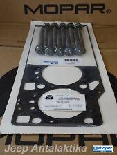 Head Gasket 1.30mm W/BOLTS Jeep Wrangler 2.8CRD 07-18 68142848AA New OEM Mopar