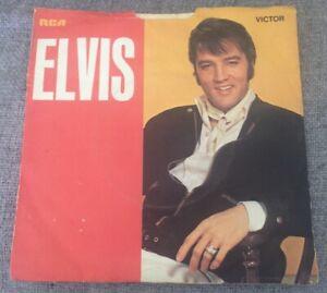 """7"""" ELVIS PRESLEY SUSPICIOUS MINDS 1969."""