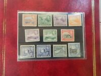 Cyprus Stamps, 1937-1949, King George VI, 1/4 Piastre till 6 piastre all Mint