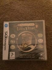 Professor Layton and the Curious Village, Nintendo DS game *NEW/SEALED*