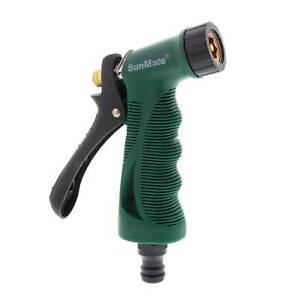 Garden Hose Pistol Zinc Adjustable Watering Nozzle Orbit