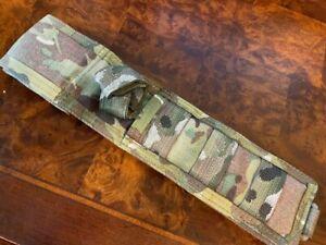 Spartan Blades Knife MOLLE Nylon Sheath MultiCam also fits Busse Ratmandu
