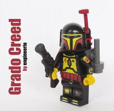 LEGO Custom - Grado Creed - Star Wars minifigures mandalorian boba fett jango