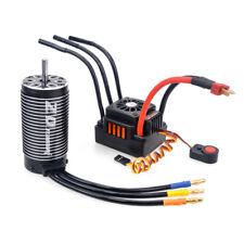 Para 1/8 RC Coche Buggy potencia motor sin escobillas ESC+4082 Set 150A Controlador de Velocidad