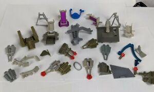 1988 Tyco Dino Riders Broken Armor Part Lot