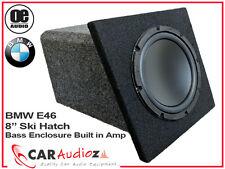 """Bmw E46 cabriolet 8"""" actif amplifié amp bass box subwoofer sub ski hatch voiture"""