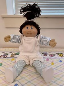 Jesmar Cabbage Patch Kid Single Ponytail Girl With Freckles Made In Spain