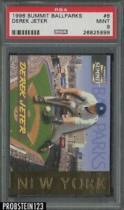 1996 Summit Ballparks #6 Derek Jeter New York Yankees HOF /8000 PSA 9