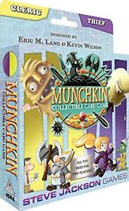 Steve Jackson Games Munchkin Ccg: Cleric And Thief Starter TCG Brand New