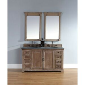 James Martin Providence 60' double Vanity Cabinet, Driftwood - 238-105-5611
