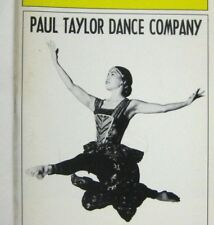 Paul Taylor Dance Company Playbill 2001 City Center Lisa Viola Richard Chen
