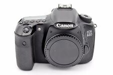 Canon EOS 60D 18.0MP Digital SLR Camera - Nero (Solo Corpo) CONTA SCATTI: 20