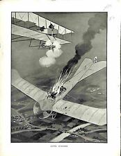 Lutte d'Avions Combat Aérien SPAD contre Aviatik Luftstreitkräfte 1917 WWI
