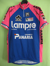 Maillot cycliste Lampre Panaria 1994 Colnago Jersey cycling Vintage - XL