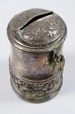 Alte Spardose mit Rosen um 1930    (da6199)