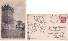 # MONTECASTELLO VIBIO:  ANTICA TORRE DELLA PORTA DEL MAGGIO  1940