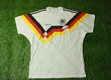 WEST GERMANY NATIONAL TEAM 1988/1990 FOOTBALL SHIRT JERSEY TEE ADIDAS ORIGINAL
