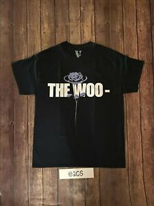 New 100% Authentic Pop Smoke X Vlone The Woo Sizes Available Fast Free Shipping