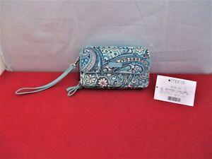 Vera Bradley Iconic RFID All in One Crossbody  $65 Blue