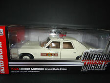 Auto World Dodge Monaco Illinois State Police 1974 1/18