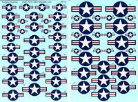 Fantasy Printshop Decals 1/32 UNITED STATES AIR FORCE POST WAR INSIGNIA