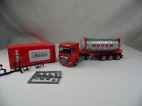 ht548, Herpa 306072 DAF XF SC Euro 6 Chemietankcontainer-Sattelzug 1:87 NEU/NEW