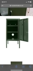 MUSTARD MADE 'The Shorty' Green locker (Spare shelf Only)