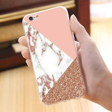 Mix Luxury Marble Pattern Shockproof Soft TPU Phone Case Cover for iPhone 7Plus
