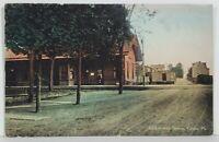Lackawanna Station, Cresco Pa 1913 Canadensis to Stroudsburg Postcard N5