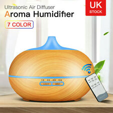 3 in 1 Essential Oil Aroma Diffuser Mist Humidifier Air Purifier Ultrasonic LED