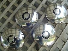 BUICK DOGDISH HUB CAPS HUBCAPS WHEEL COVERS CENTER CAPS ANTIQUE VINTAGE CLASSIC