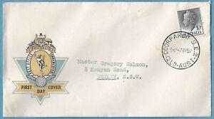 Australian 1957 Queen Elizabeth FDC Stamp D038