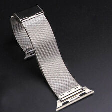 New Bracelet Stainless Steel Strap Mesh Milanese Watch Bands For Apple Watch
