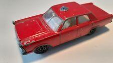 Matchbox Lesney no.59-D Ford Galaxie Fire Chief Car 1966