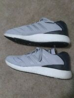 MENS ADIDAS BUSENITZ PUREBOOST GRAY  and WHITE size 13