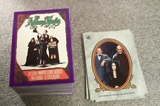 THE ADDAMS FAMILY Complete Set with Stickers      comedy - horror