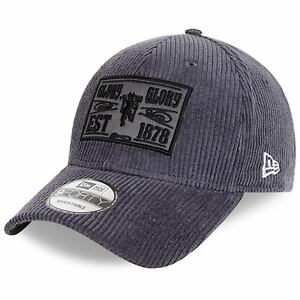 Manchester United New Era Cord Pack 9FORTY Adjustable Hat - Navy