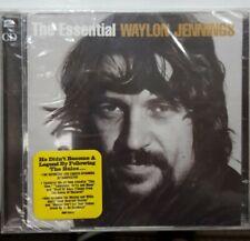 Waylon Jennings - The Essential Waylon Jennings (2 CD 2007 Sony) BRAND NEW SEALD